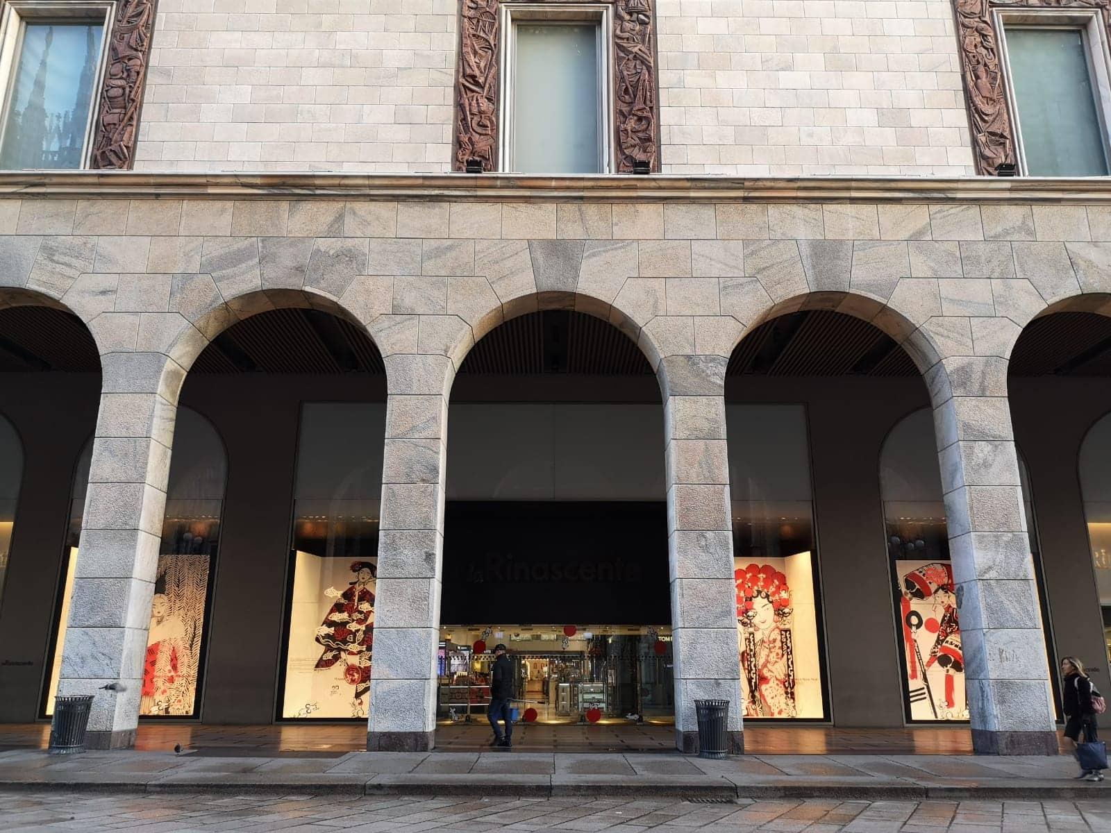 portico La Rinascente Milano