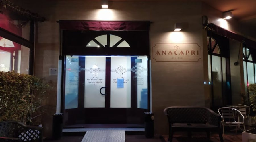 Orari di apertura pizzeria Anacapri Cusano Milanino
